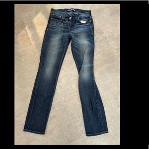Express Skinny Mid-Rise Jeans